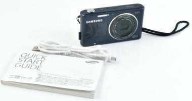 2012 Samsung DV150F digitális smart fényképezőgép, hátoldali és előoldali kijelzővel, WIFI, WLAN, 16 megapixel, töltőkábellel, 16 GB memóriakártya, használati útmutató