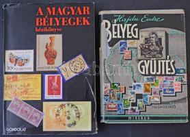 Hajdú Endre: Bélyeggyűjtés (1961) + A magyar bélyegek kézikönyve (1986), mindkettő használt állapotban