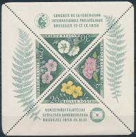 1958 FIP Virág blokk (10.000)