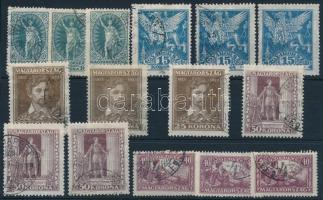 1923 Petőfi Sándor I. 3 db sor (6.900)