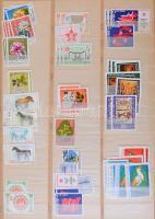 Bulgária több száz darab bélyeg másodpéldányokkal 10 lapos nagyméretű berakóban