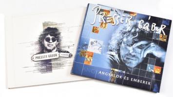 Presser Gábor 2 db CD - A szövegíró + Angyalok és emberek
