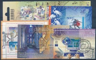 2002/2003 33 klf. bélyeg + 5 blokk (12.180)