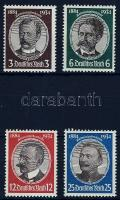 1934 Gyarmatkutatók sor Mi 540-543