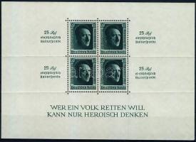1937 Birodalmi pártnap blokk Mi block 11