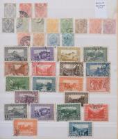 Bosznia Hercegovina, Kuk Feldpost kis gyűjtemények, hozzá kevés modern Ausztria és néhány egyéb bélyeg 8 lapos A/4 berakóban