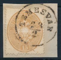 1863 15kr TEMESVÁR
