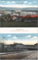 Zweibrücken, 22. I.-R. Fürst Wilh. von Hohenzollern, Kaserne I. Batl., Kaserne II. Batl. / German military barracks (EK)