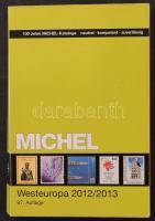 Michel Európa 6: Nyugat-Európa katalógus 2012/2013, használt /Michel Europe 6: West-Europe catalogue 2012/2013 used.