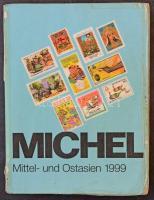 Michel 9: Közép és Kelet-Ázsia katalógus 1999/Michel 9: Central and East Asia catalogue 1999 (szakadt borító, erősen használt/folded and used book)