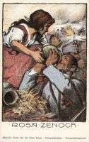 Rosa Zenoch, Kriegsfürsorge / WWI military s: Karpelly, Első világháborús katonák s: Karpelly