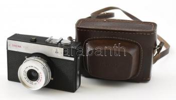 Lomo Smena 8M fényképezőgép T-43 40mm f/4 objektívvel, eredeti tokjában