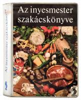 Magyar Elek: Az ínyesmester szakácskönyve. Bővített és átdolgozott kiadás. Győry Miklós illusztrációival. Bp., 1970, Minerva. Kiadói nylon-kötés.