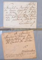 Klasszikus magyar levelek a bélyeg előtti időszaktól a Réznyomatig, benne bélyeges és ex offo levelek is, kevés osztrák, gyűrűs levélberakóban, tokkal