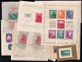 1938-1960 16 klf blokk vegyes minőségben (106.700)
