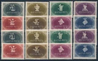 1945 Szakszervezet I. 2 db sor (**24.000)
