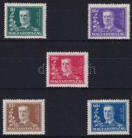 1930 Kormányzói 10 éves évforduló sor (8.000)