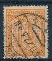 Deutsches Reich 1921 Hivatalos bélyeg Mi 65 (Mi EUR 600.-)