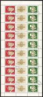 1958 Bélyegnap (31.) 3 db teljes ív (18.000)