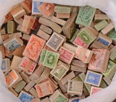 Kb 150 db bündli ömlesztve dobozban, benne Ötéves terv, Épületek, Arcképek stb.