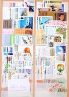 Több ezer darab bélyeg 15 berakólapon, közte Csehszlovákia, Egyiptom, Lengyelország stb.