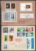 NDK 1977-1981 2 db ajánlott küldemény