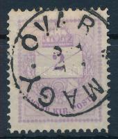 1874 2kr durva gyöngyjavítással (ex Lovász)