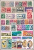 Brit gyarmatok - St. Lucia 43 klf bélyeg közepes berakólapon