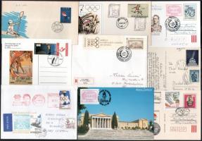 50 db levél, boríték olimpia témában