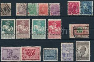 Belgium 17 régi bélyeg