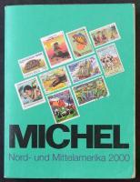 MICHEL Tengerentúl - Észak- és Közép-Amerika 2000 katalógus, használt állapotban