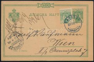 Szerbia 1901