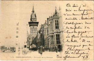 1900 Paris Exposition, Pavillon de la Hongrie / Magyar pavilon a párizsi Világkiállításon / Hungarian pavilion at the International Expo. Hungarika / Hungarica (ázott sarok / wet corner)