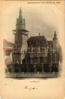 1900 Paris, Exposition Universelle, Pavillon de la Hongrie / Magyar pavilon a párizsi Világkiállításon / Hungarian pavilion at the International Expo. Hungarika / Hungarica (EK)