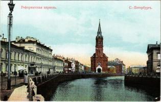 Saint Petersburg, St. Petersbourg, Petrograd; Eglise réformée / German Reformed Church (EK)