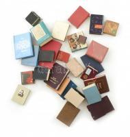 Vegyes minikönyv tétel, reprintekkel, kb 20 db
