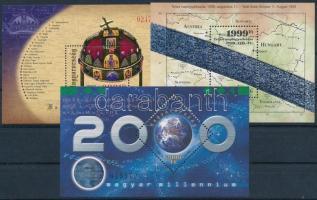 1999-2001 3 klf blokk (14.500)