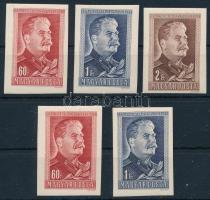 1949 Sztálin vágott sor + 60f és 1Ft többlet példány (min 3.000)