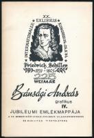 Bánsági András (1934-1993) grafikái. 18 db linómetszet- Dedikált mappában