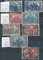Deutsches Reich összeállítás kétoldalas zsebberakóban (Mi EUR 780.-)