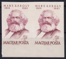 1968 Karl Marx ívszéli vágott pár