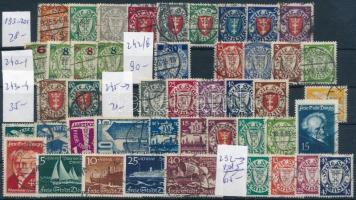 Danzig összeállítás stecklapon (Mi EUR 358.-)