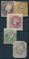 Portugália 1862 Komplett sor (Mi EUR 347,-)