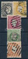 Portugália 1867 Sor 5 értéke (Mi EUR 520,-)