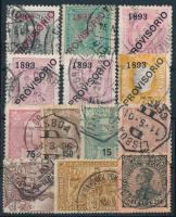 Portugália 1893-1910 13 klf klasszikus bélyeg (Mi EUR 438,-)