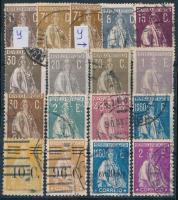 Portugália 17 klf jobb bélyeg (Mi EUR 302,-)