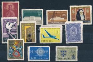 Portugália 1958-1960 11 komplett kiadás (Mi EUR 140,-)