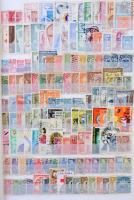 2.426 klf latin-amerikai bélyeg 9 db berakólapon