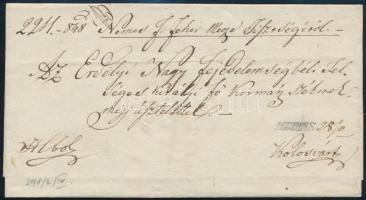 1848 Hivatalos levél MEDIAS