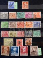 Németország - Berlin 440 darabos gyűjtemény, benne 30 db sor, 10 lapos, közepes berakóban